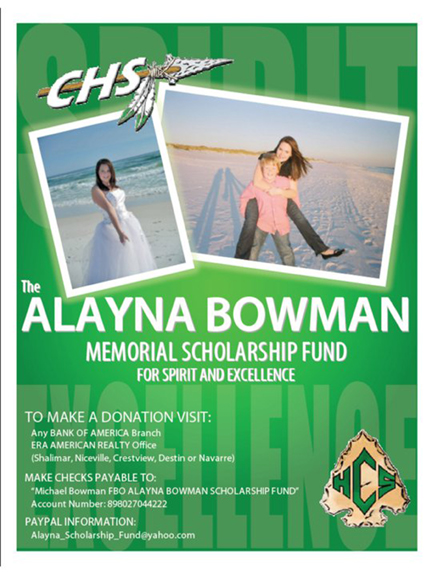 Alayna Bowman Scholarship Fund
