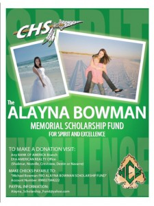 Alayna Bowman Scholarship Fund